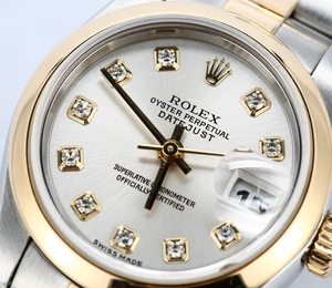 Ladies Datejust 79163 Diamond Dial