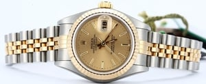 Rolex Datejust Ladies 79173 Champagne