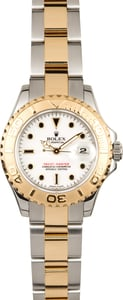 Rolex Lady Yachtmaster 18k Gold & Steel 169623