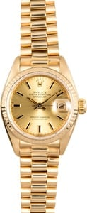 Rolex President Lady-Datejust 69178 Yellow Gold