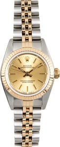 Rolex Ladies Oyster Perpetual 76193 Champagne