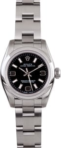 Ladies Rolex Oyster Perpetual 176200 Black