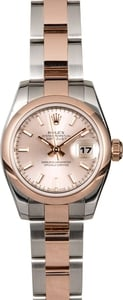 Rolex Lady Datejust 179161PSO Rose Gold