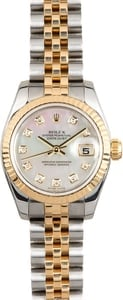 Used Ladies Rolex Datejust Watch 179173