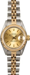 Rolex Lady Datejust 69173 Champagne Dial