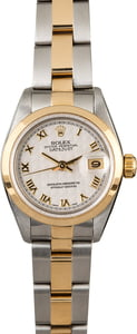 Ladies Rolex Datejust 69163 Jubilee Roman