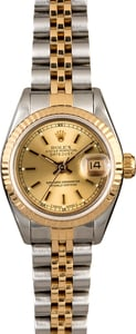 Rolex Ladies Datejust 69173 Two Tone Jubilee Band