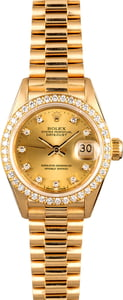 Rolex Lady President 69138 Diamonds