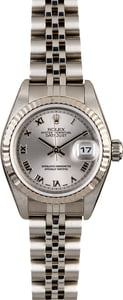 Rolex Lady Datejust 79174 Rhodium Roman Dial