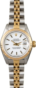 Rolex Ladies Datejust 69173 Two Tone