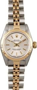 119631 Women's Rolex Datejust 69173 Two Tone