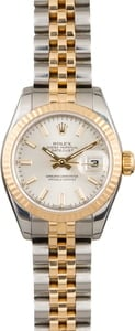 Pre Owned Rolex Lady-Datejust 179173 Silver Index