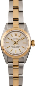 Women's Rolex Oyster Perpetual 76183 Two Tone Oyster