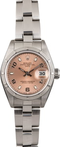 PreOwned Rolex Ladies Datejust 79190 Salmon Dial