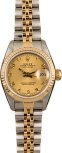 Ladies Rolex Oyster Perpetual DateJust Model 69173