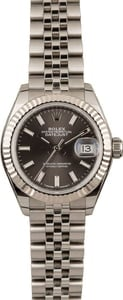 Pre-Owned Rolex Datejust 279174 Rhodium Dial T