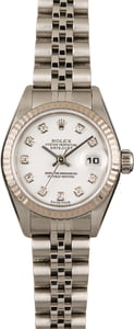 Ladies Rolex Datejust 79174 Diamonds