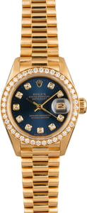 Rolex Ladies President Watch 69178 with Diamond Dial
