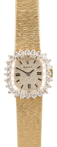Women's Vintage Rolex Diamond Cocktail
