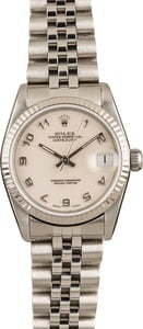 Rolex Datejust White Jubilee Dial 68274