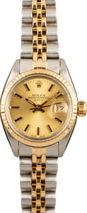 Rolex Lady Date 6917 Two Tone