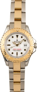 Pre-Owned Rolex Ladies Yacht-Master 69623 White Dial