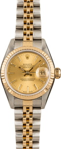 Pre-Owned Rolex Datejust 79173 Champagne