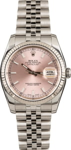Pre-Owned Rolex Datejust 116234 Pink Dial