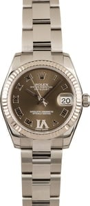 Rolex Datejust 178274 Chocolate Dial