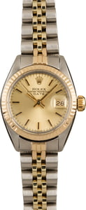 Lady Rolex Date 6917 Steel and Gold