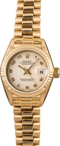Ladies Rolex Datejust 69178 President