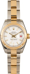Pre-Owned Rolex Lady Datejust 179173 Luminous Dial