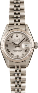 Pre-Owned Rolex Ladies DateJust 79174 Silver Dial