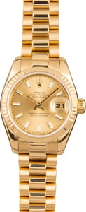 Rolex Ladies President 179178 Yellow Gold