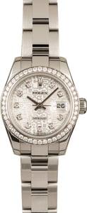 Pre-Owned Rolex Datejust 179384 Diamond Jubilee Dial