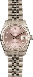 Rolex Datejust 178274 Pink Diamond Dial