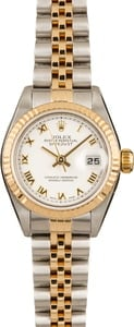Pre-Owned Rolex Ladies Datejust 79173 Roman Dial