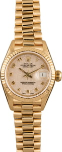 Used Rolex Lady President 69178 Ivory Jubilee Dial