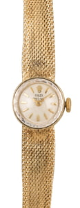 Pre-Owned Rolex Ladies Cocktail Yellow Gold
