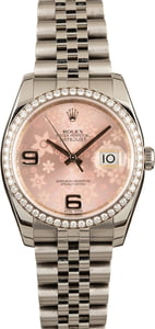 Pre Owned Rolex Datejust 116244 Diamond Bezel T