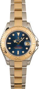 Rolex Mid-Size Yacht-Master 168623 Blue Dial