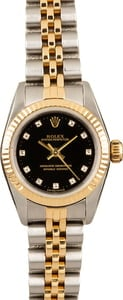 Rolex Oyster Perpetual 76193 11 Diamond Dial