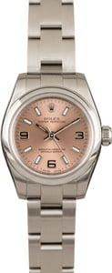 Ladies Rolex 26MM Oyster Perpetual 176200
