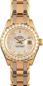 Ladies Rolex Masterpiece Pearlmaster 80298