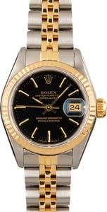 PreOwned Rolex 69173 Ladies Datejust