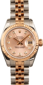 Rolex Lady Datejust 179171 Pink Diamond Dial