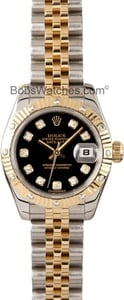 Rolex Datejust Diamond Dial and Bezel Watch 179313