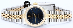 Ladies Rolex Oyster Perpetual 67193 Certified Pre-Owned