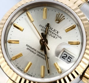 Rolex Ladies Datejust 69173 Silver Dial