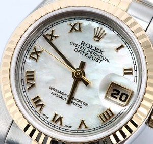 Ladies Rolex Datejust 69173 Mother of Pearl